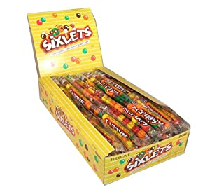 Sixlets 48 packs of candy coated chocolate candy