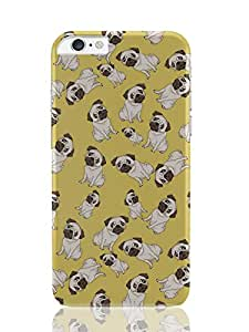 PosterGuy iPhone 6 Plus Case & Cover - Pug Life Pattern Graphic Illustration