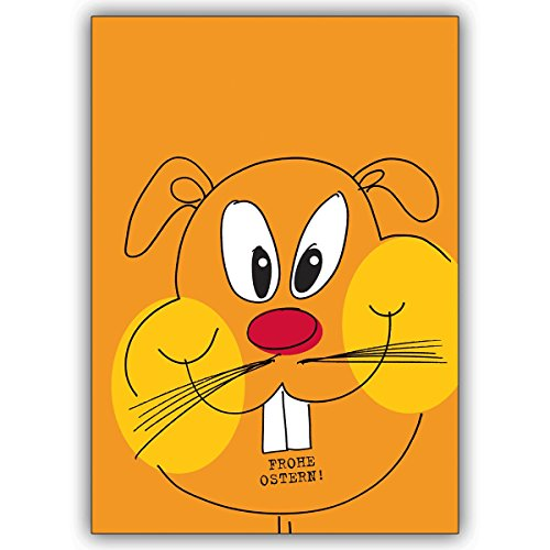 1 Osterkarte: Ob Osterhase oder Oster Hamster hiermit verschicken Sie auf jeden Fall bunte Ost