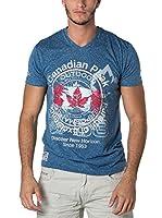 CANADIAN PEAK Camiseta Manga Corta Japple (Azul)