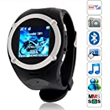 Watch Phone Unlocked with Camera Cell Phone Mobile Touch Screen Mp3/4 Fm (Black) Picture