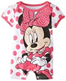 Disney Baby Baby-Girls Newborn Minnie Romper
