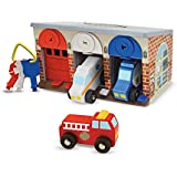 Melissa & Doug Lock and Roll Rescue Garage