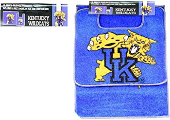 Ncaa University Of Kentucky Wildcats 2 Piece Bathroom Rug
