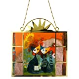 Rosina Wachtmeister Glass Suncatcher Window Picture - Estate (Summer)