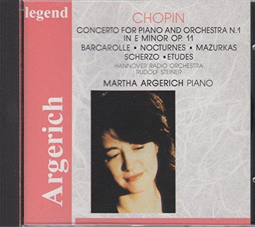 Chopin Frederic - Argerich Plays Chopin - Zortam Music