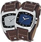 FOSSIL (フォッシル) 腕時計 KALEIDO ミラー/ブルーパネル AM3695 メンズ