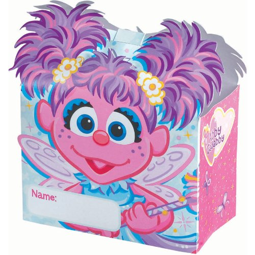 Abby Cadabby Treat Boxes, 6ct