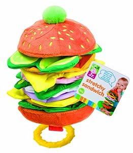 ALEX® Toys - Alex Jr. Stretchy Sandwich -Baby Soft Toy  1948