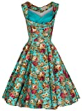 Lindy Bop 'Ophelia' Vintage 1950's Garden Party Picnic Dress