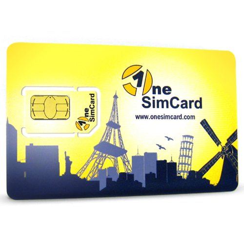 OneSimCard International SIM Card for Over 190 Countries