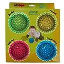 Edushape 4 Count Multi-Sensory Balls Gift Set