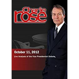 Charlie Rose - Live Analysis of the Vice Presidential Debate (October 11, 2012)