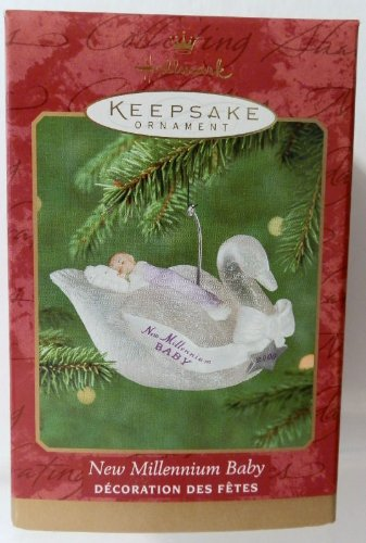 Hallmark Keepsake Ornament - New Millennium Baby 2000 (QX8581) - 1