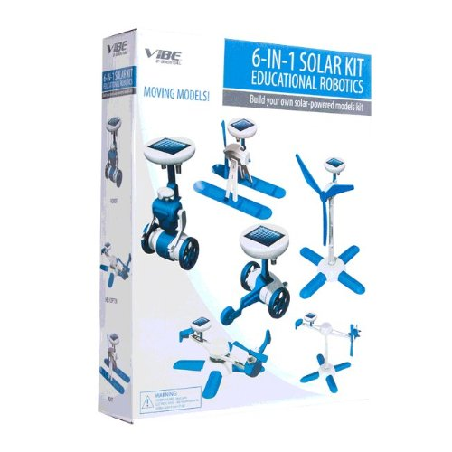 6-in-1 Solar Kit Eduction Robotics-blue (Six In One Solar Robot Kit compare prices)