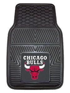 FANMATS NBA Chicago Bulls Vinyl Heavy Duty Vinyl Car Mat