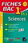 Fiches bac Sciences 1re ES, L: fiches...