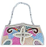 Youth Mantra embellished Non-Leather women's clutch
