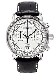 Zeppelin Men's Watch Analog Quartz Leather - XL - 7690-1