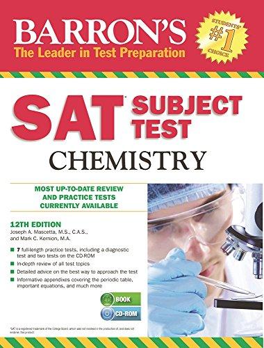 Sat Subject Test, Chemistry