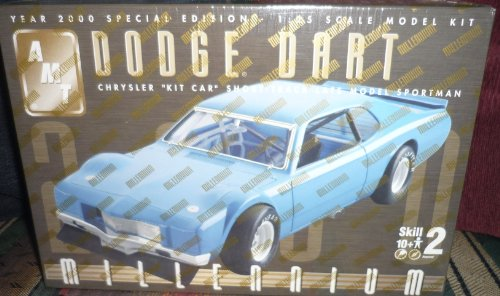 #30271 AMT Dodge Dart Chrysler Kit Car Short Track Late Model Sportman 1/25 Scale Plastic model kit,needs assembly
