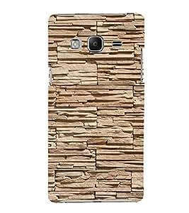 EPICCASE Pebble brick wall Mobile Back Case Cover For Samsung Tizen Z3 (Designer Case)