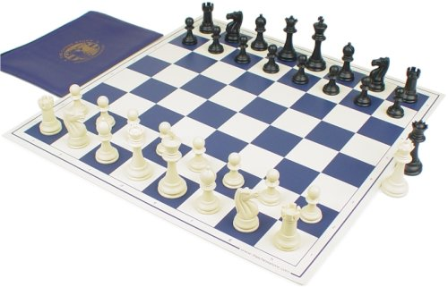 Buy New ClubTourney Chess Set Kit – Blue