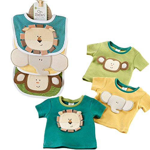 Baby Aspen Safari Bundle with Safari Tiny Tees and Safari Bibs