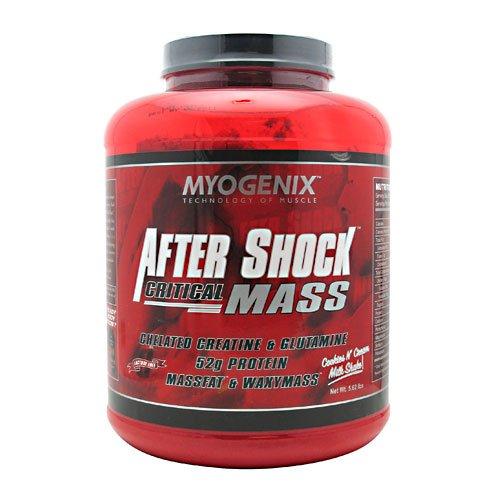 Aftershock Critical Mass, Cookies N?? Cream Milk, 5.62 Lbs, From Myogenix