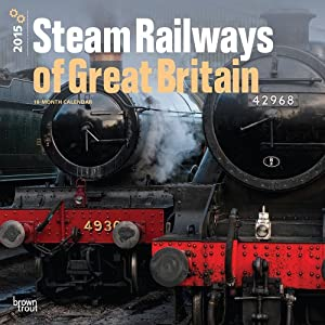 Steam Railways of Great Britain 2015 Wall