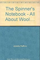 The Spinners Notebook by Jonelle Raffino
