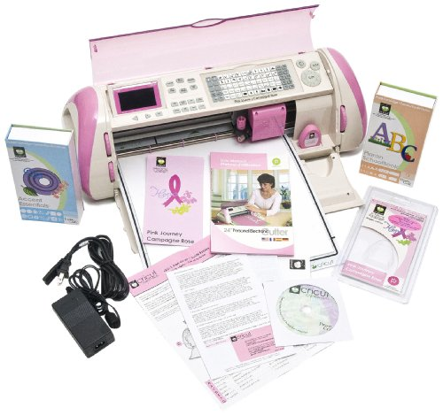 Pink Cricut Expression Electronic Cutting Machine