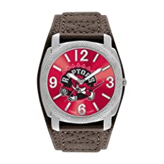 Game Time Mens NBA-DEF-TOR Toronto Raptors Defender Analog Display Japanese Quartz... by Game Time