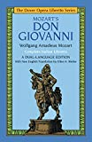Don Giovanni (Dover Opera Libretto Series) (Italian and English Edition) (0486249441) by Wolfgang Amadeus Mozart