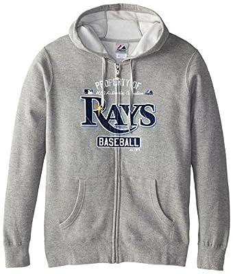 MLB Tampa Bay Rays Women's Property Of Fleece, Steel Heather