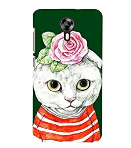 printtech Cat Back Case Cover for Micromax Canvas Xpress 2 E313::Micromax Canvas Xpress 2 (2nd Gen)