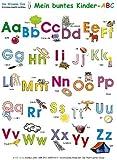 Das bunte Kinder-ABC. Poster: Deutsch
