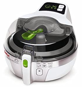 Tefal ActiFry Family AH900240 Low Fat Electric Fryer - 1.5 kg Capacity - White