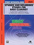Student Instrumental Course Studies and Melodious Etudes for Bass Clarinet (0757904793) by Porter