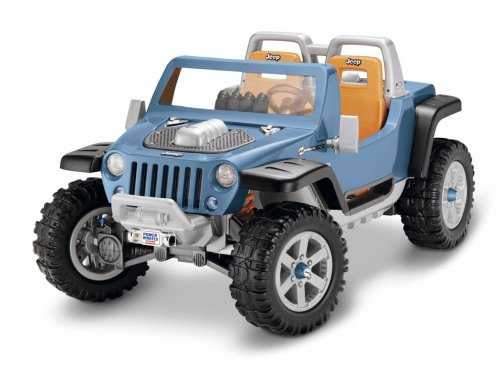 Fisher-Price Power Wheels Ultimate Terrain Traction Jeep Hurricane