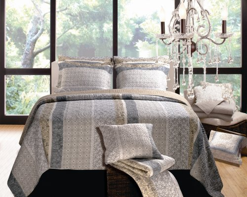 Greenland Home Soho Quilt Set, Full/Queen front-4767