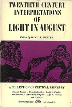 Light in august essay