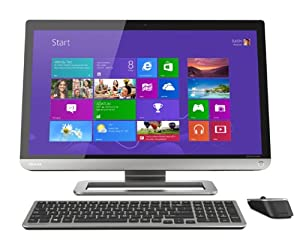 Toshiba PX35t-A2210 23-Inch All-in-One Touchscreen Desktop (Silver)