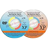 2 BOOT DISKS for RESTORE & RECOVERY for WINDOWS XP 32 & 64 bit