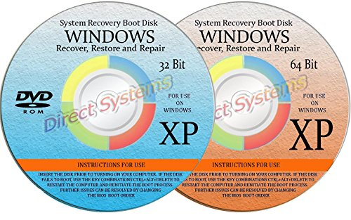 BOOT DISKS for RESTORE & RECOVERY for WINDOWS XP 32