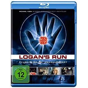 BD * Logan's Run - Flucht ins 23. Jahrhundert [Blu-ray] [Import allemand]