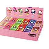 Authentic Japanese Japan Nakajima Sanrio Hello Kitty Silly Putty 12 Fruit Food Scented Erasers - 201