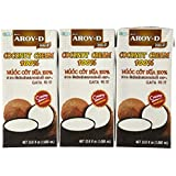 AROY-D 100% PURE Coconut Cream, 33.8 Oz package (3-pack)