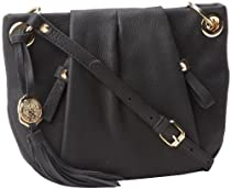 Vince Camuto Cris Cross Body,Black,One Size