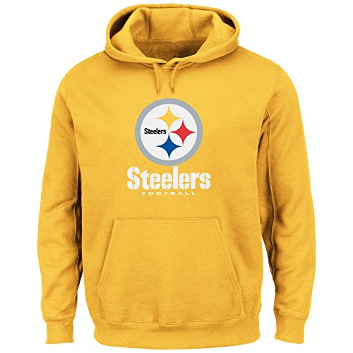 the best attitude f9bd9 14132 Majestic Pittsburgh Steelers Men's Hoodie at Steeler Mania